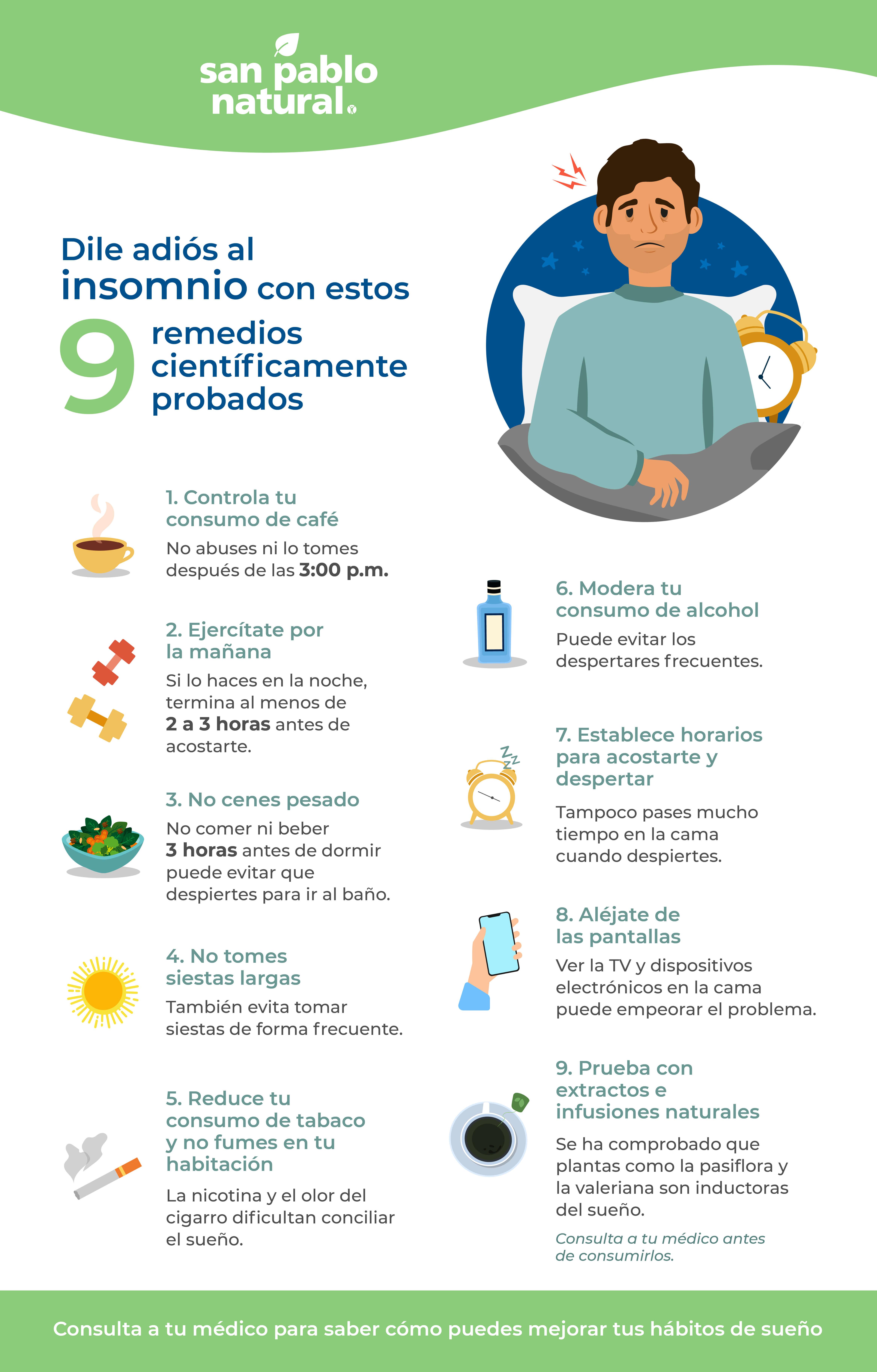 Remedios Caseros Para El Insomnio Existen San Pablo Farmacia