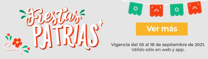 Fiestas Patrias 2021| farmacia San Pablo